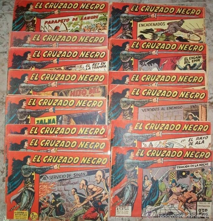 EL CRUZADO NEGRO (MAGA) 56 EJ COMPLETA (Tebeos y Comics - Maga - Otros)