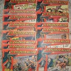Tebeos: EL CRUZADO NEGRO (MAGA) 56 EJ COMPLETA. Lote 56538978