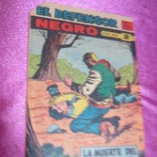 Tebeos: EL DEFENSOR NEGRO Nº 61 ULTIMO MAGA EXCELENTE ESTADO. Lote 56800481