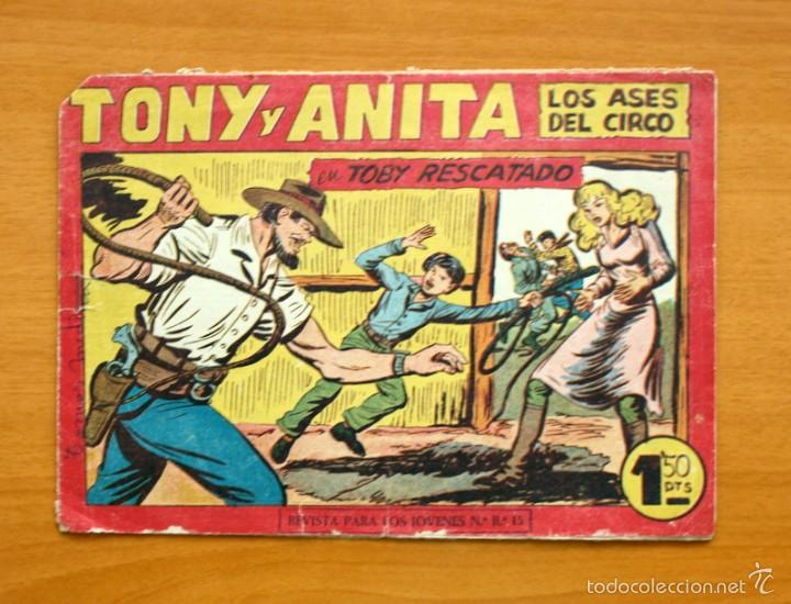 TONY Y ANITA, Nº 153 - EDITORIAL MAGA 1951 - ULTIMO DE LA COLECCIÓN (Tebeos y Comics - Maga - Tony y Anita)