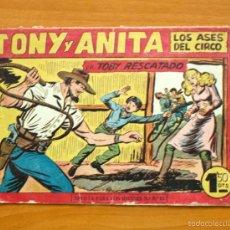 Tebeos: TONY Y ANITA, Nº 153 - EDITORIAL MAGA 1951 - ULTIMO DE LA COLECCIÓN. Lote 56878267