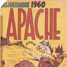 Tebeos: APACHE, ALMANAQUE AÑO 1.960. ORIGINAL EDITORIAL MAGA.. Lote 56973800