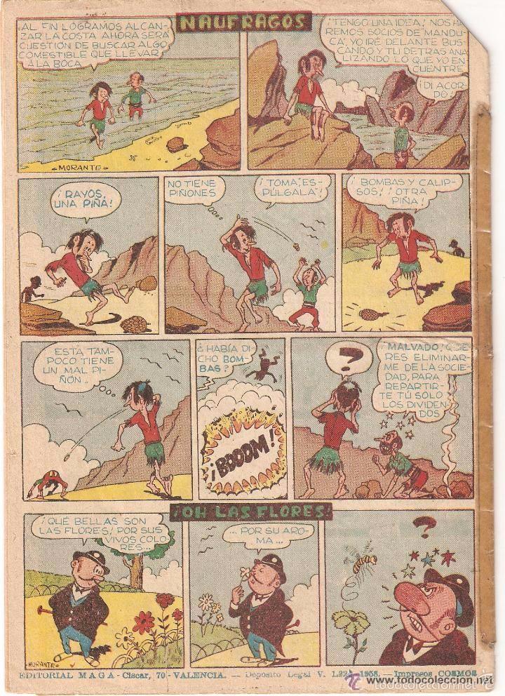 Tebeos: Apache, Almanaque Año 1960 es Original Dibujante L. Bermejo. Editorial Maga. - Foto 2 - 56973800