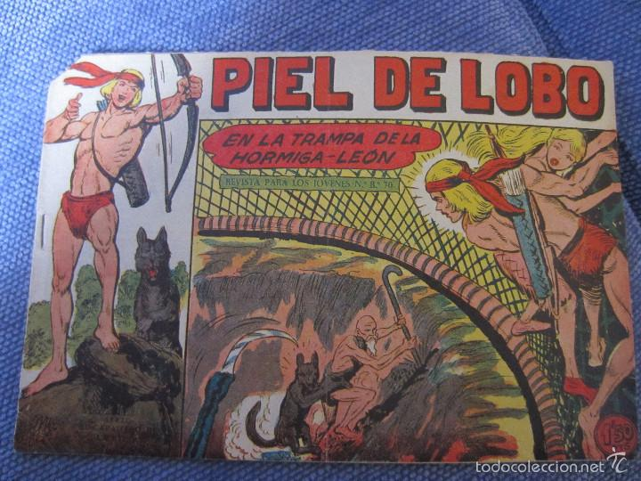 PIEL DE LOBO- Nº 56 - ORIGINAL- MAGA 1959 (Tebeos y Comics - Maga - Piel de Lobo)