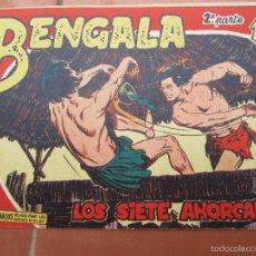 Tebeos: BENGALA , SEGUNDA PARTE, N.19 LOS SIETE AHORCADOS , MAGA. Lote 57224488