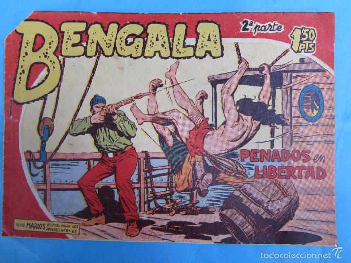 BENGALA , SEGUNDA PARTE, N 17 , MAGA (Tebeos y Comics - Maga - Bengala)