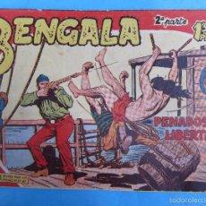 Tebeos: BENGALA , SEGUNDA PARTE, N 17 , MAGA. Lote 57343846
