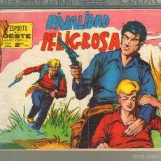 Tebeos: TEBEOS-COMICS GOYO - ESPIRITU DEL OESTE - Nº 33 BOLUDA - MAGA - 1963 - DIFICIL *AA99. Lote 57496743