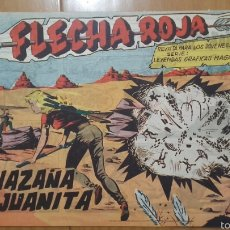 BDs: FLECHA ROJA Nº 29 ¡LA HAZAÑA DE JUANITA! ORIGINAL MAGA 1962. Lote 57514292