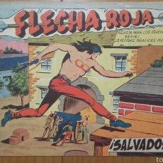 BDs: FLECHA ROJA Nº 33 ¡SALVADOS! ORIGINAL MAGA 1962. Lote 57514401