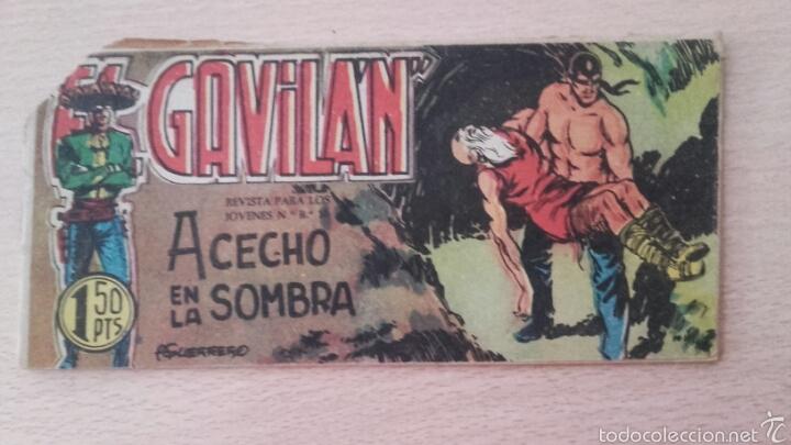 EL GAVILÁN Nº22¡ACECHO EN LA SOMBRA! ORIGINAL EDICIONES MAGA 1959 (Tebeos y Comics - Maga - Otros)