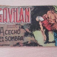 Tebeos: EL GAVILÁN Nº22¡ACECHO EN LA SOMBRA! ORIGINAL EDICIONES MAGA 1959. Lote 57534040