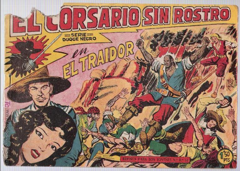EL CORSARIO SIN ROSTRO Nº 3. (Tebeos y Comics - Maga - Otros)