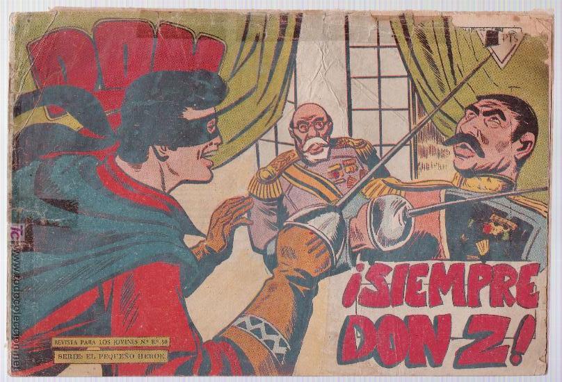 DON Z Nº 52. (Tebeos y Comics - Maga - Don Z)