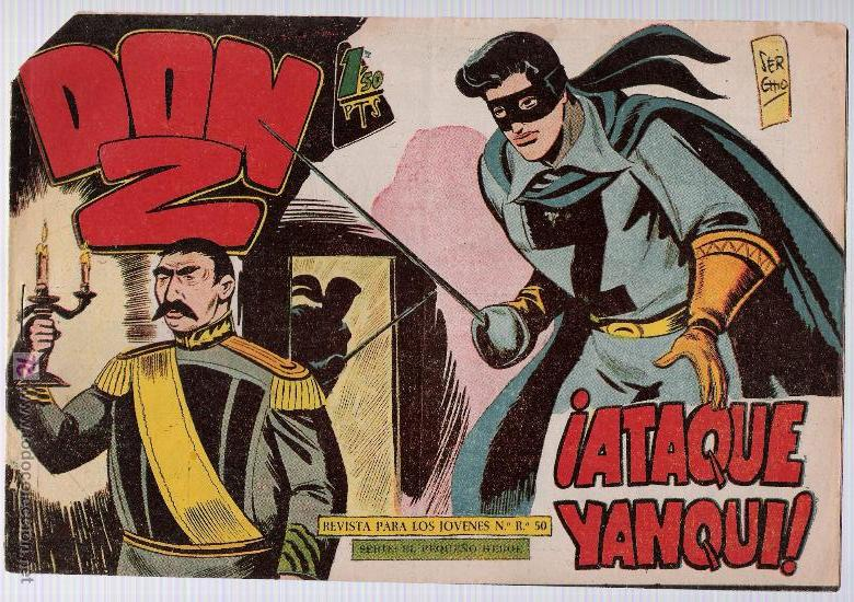 DON Z Nº 58. (Tebeos y Comics - Maga - Don Z)