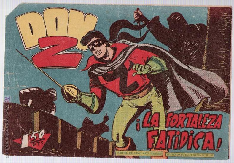 DON Z Nº 43. (Tebeos y Comics - Maga - Don Z)