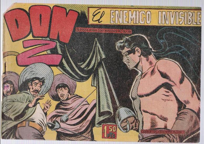 DON Z Nº 7. (Tebeos y Comics - Maga - Don Z)