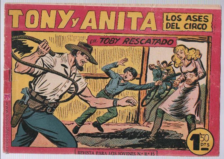 TONY Y ANITA Nº 153. ULTIMO DE LA COLECCIÓN (Tebeos y Comics - Maga - Tony y Anita)