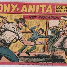 Tebeos: TONY Y ANITA Nº 153. ULTIMO DE LA COLECCIÓN. Lote 25358675