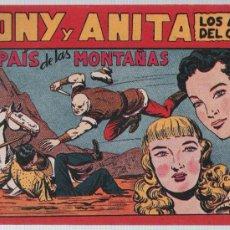 Tebeos: TONY Y ANITA Nº 72. SIN ABRIR. Lote 25467787