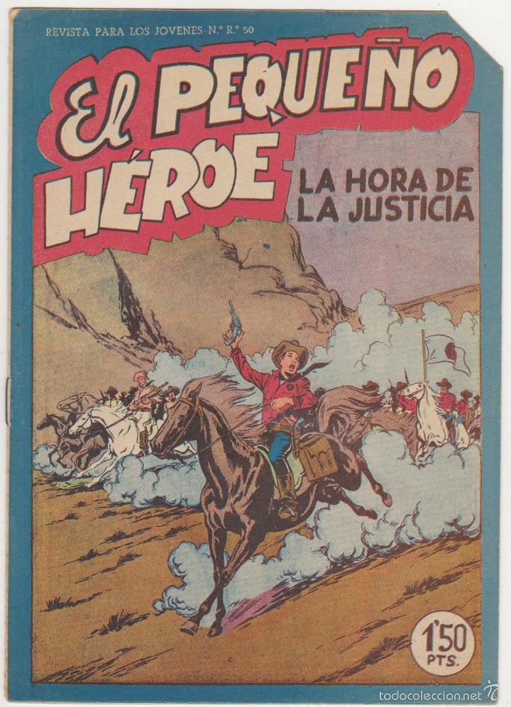 EL PEQUEÑO HÉROE Nº 31. MAGA 1957. SIN ABRIR. (Tebeos y Comics - Maga - Pequeño Héroe)