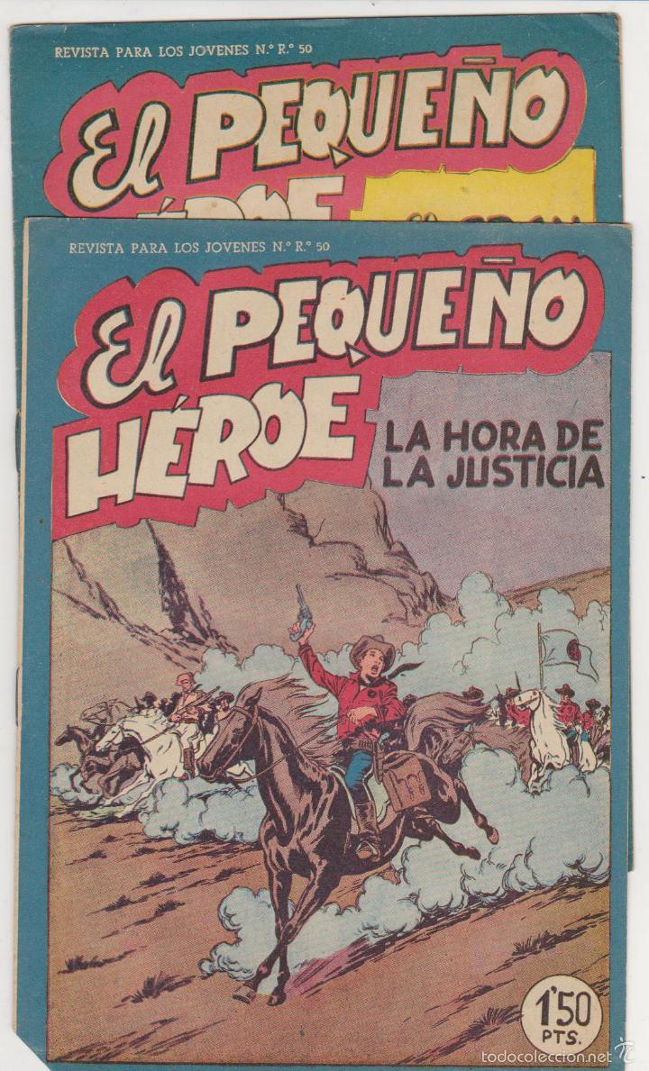 EL PEQUEÑO HÉROE Nº 31 Y 36. MAGA 1956. ¡SIN ABRIR! (Tebeos y Comics - Maga - Pequeño Héroe)