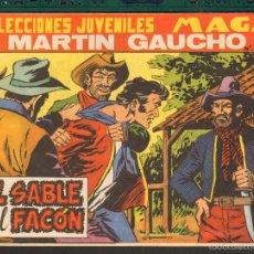 Tebeos: TEBEOS-COMICS CANDY - MARTIN GAUCHO - Nº 50 ULTIMO - MAGA- ORIGIINAL 1964 - *UU99. Lote 57821213