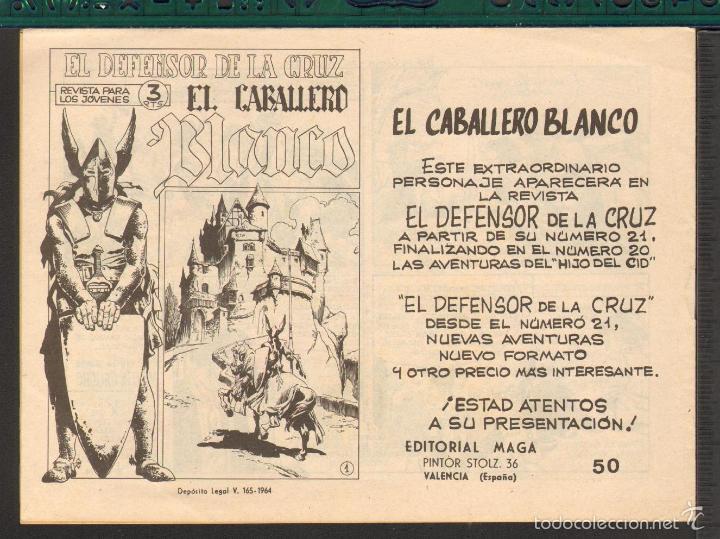 Tebeos: TEBEOS-COMICS CANDY - MARTIN GAUCHO - Nº 50 ULTIMO - MAGA- ORIGIINAL 1964 - *UU99 - Foto 2 - 57821213