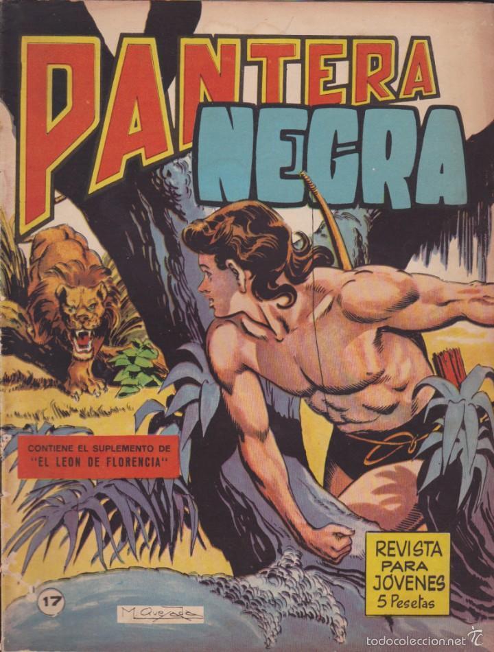 COMIC COLECCION PANTERA NEGRA REVISTA Nº 17 (Tebeos y Comics - Maga - Pantera Negra)