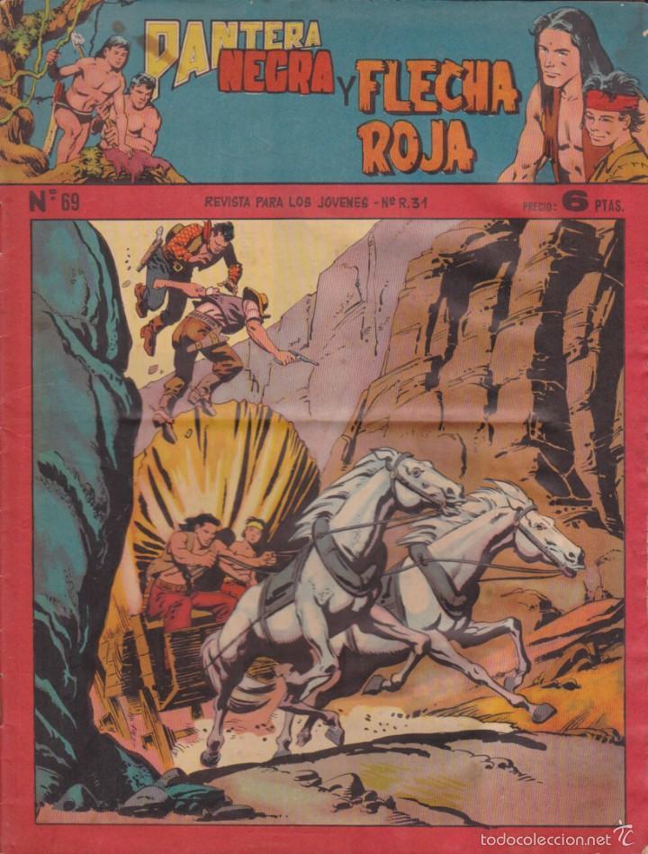 COMIC COLECCION PANTERA NEGRA REVISTA Nº 69 (Tebeos y Comics - Maga - Pantera Negra)
