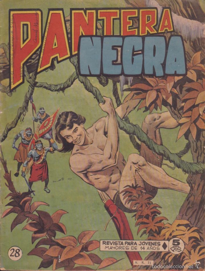 COMIC COLECCION PANTERA NEGRA REVISTA Nº 28 (Tebeos y Comics - Maga - Pantera Negra)