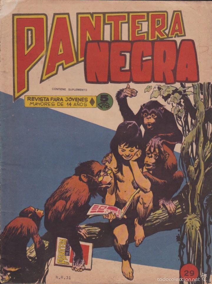 COMIC COLECCION PANTERA NEGRA REVISTA Nº 29 (Tebeos y Comics - Maga - Pantera Negra)