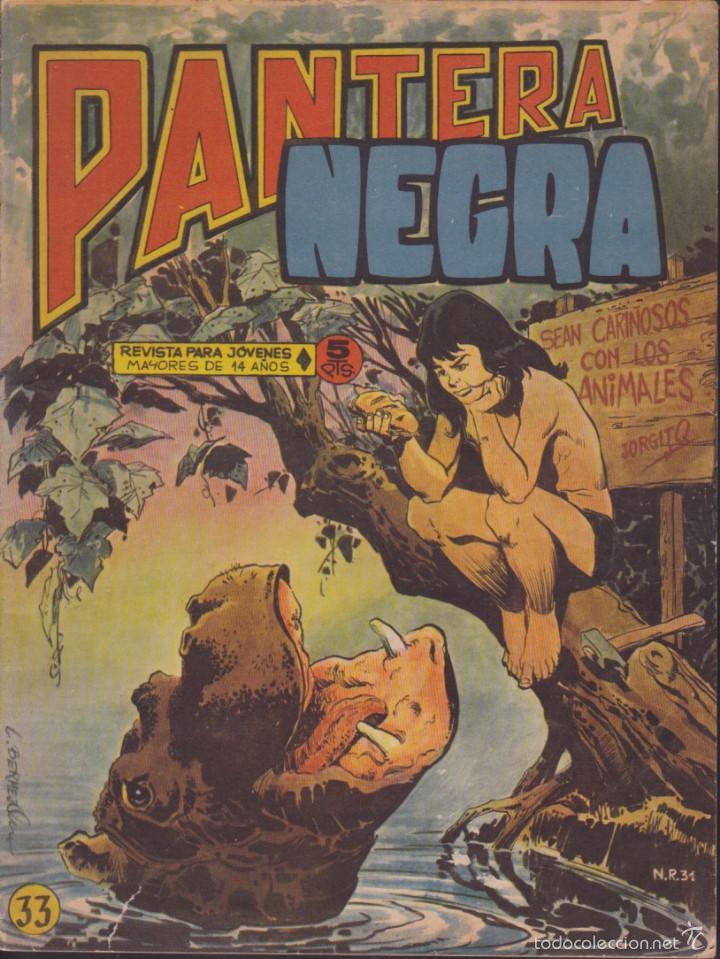 COMIC COLECCION PANTERA NEGRA REVISTA Nº 33 (Tebeos y Comics - Maga - Pantera Negra)