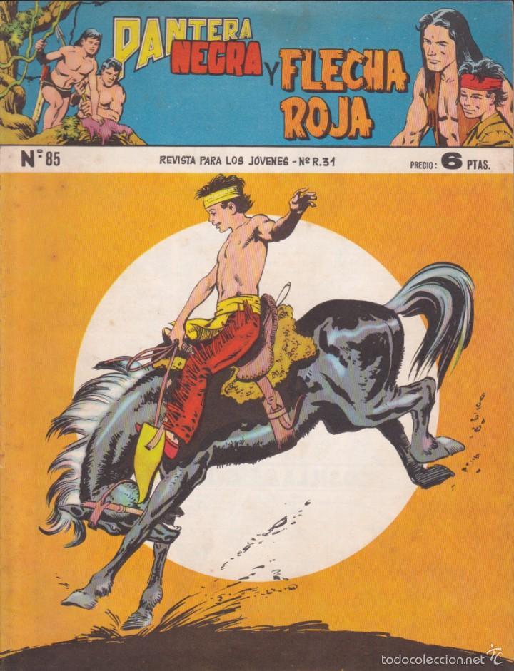 COMIC COLECCION PANTERA NEGRA REVISTA Nº 85 (Tebeos y Comics - Maga - Pantera Negra)