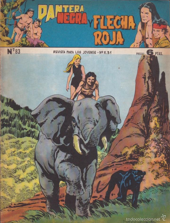 COMIC COLECCION PANTERA NEGRA REVISTA Nº 83 (Tebeos y Comics - Maga - Pantera Negra)
