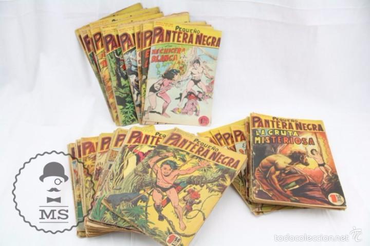 COLECCIÓN COMPLETA DE 70 CÓMICS PEQUEÑO PANTERA NEGRA. VERTICAL - Nº 55 AL 124 - ED. MAGA, AÑOS 50 (Tebeos y Comics - Maga - Pantera Negra)