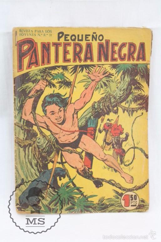 Tebeos: Colección Completa de 70 Cómics Pequeño Pantera Negra. Vertical - Nº 55 al 124 - Ed. Maga, Años 50 - Foto 2 - 57945795