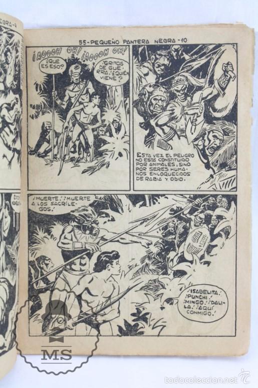 Tebeos: Colección Completa de 70 Cómics Pequeño Pantera Negra. Vertical - Nº 55 al 124 - Ed. Maga, Años 50 - Foto 4 - 57945795