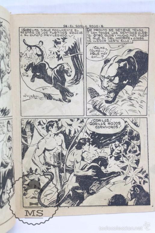 Tebeos: Colección Completa de 70 Cómics Pequeño Pantera Negra. Vertical - Nº 55 al 124 - Ed. Maga, Años 50 - Foto 7 - 57945795