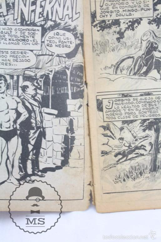 Tebeos: Colección Completa de 70 Cómics Pequeño Pantera Negra. Vertical - Nº 55 al 124 - Ed. Maga, Años 50 - Foto 9 - 57945795