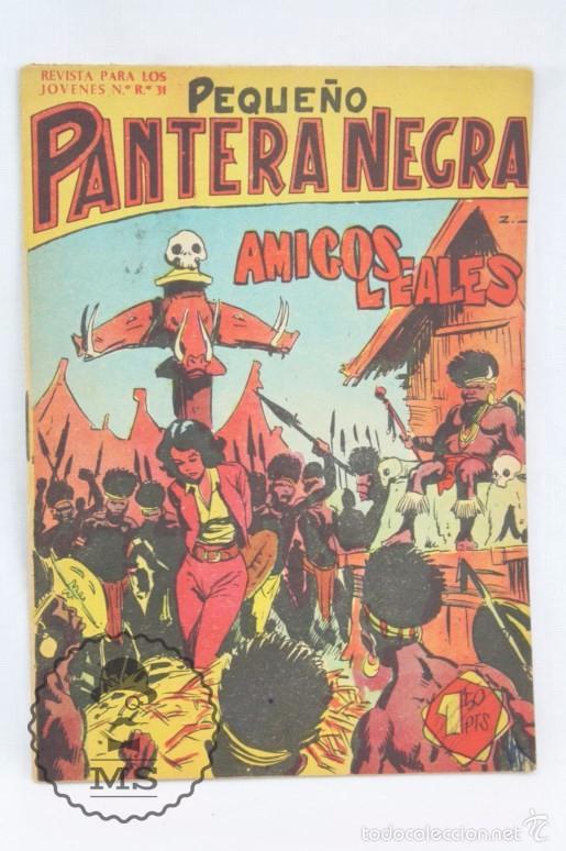 Tebeos: Colección Completa de 70 Cómics Pequeño Pantera Negra. Vertical - Nº 55 al 124 - Ed. Maga, Años 50 - Foto 10 - 57945795