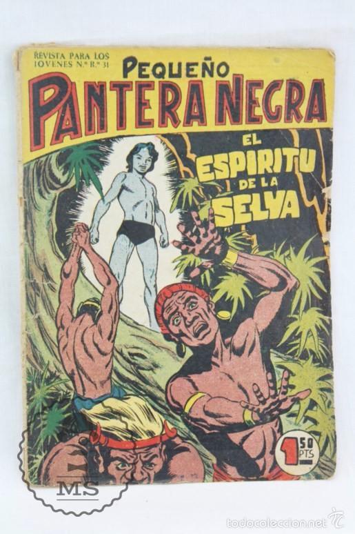 Tebeos: Colección Completa de 70 Cómics Pequeño Pantera Negra. Vertical - Nº 55 al 124 - Ed. Maga, Años 50 - Foto 14 - 57945795