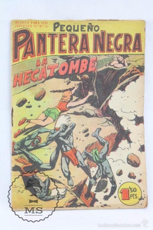 Tebeos: Colección Completa de 70 Cómics Pequeño Pantera Negra. Vertical - Nº 55 al 124 - Ed. Maga, Años 50 - Foto 16 - 57945795