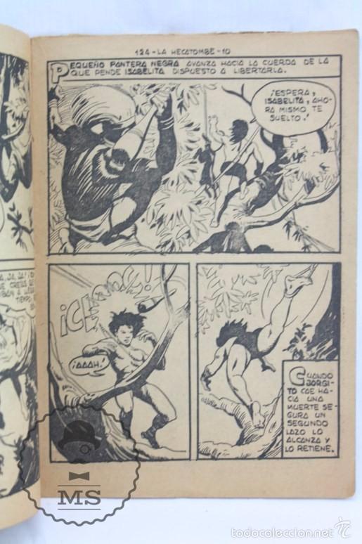 Tebeos: Colección Completa de 70 Cómics Pequeño Pantera Negra. Vertical - Nº 55 al 124 - Ed. Maga, Años 50 - Foto 17 - 57945795