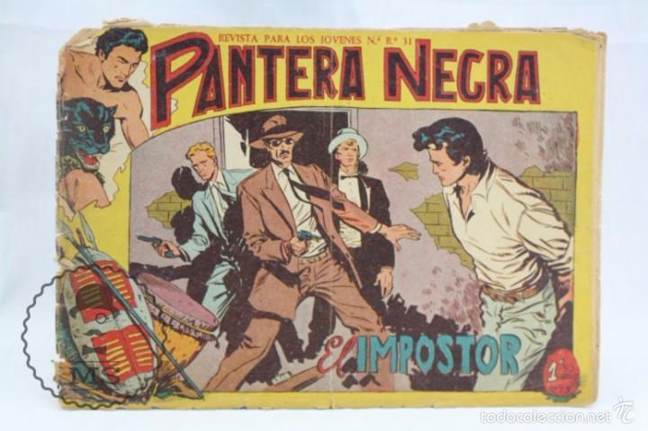 Tebeos: Conjunto de 13 Cómics - Pequeño Pantera Negra. Apaisado + Almanaques 1959 y 1960 - Ed. Maga, Años 50 - Foto 11 - 57946068