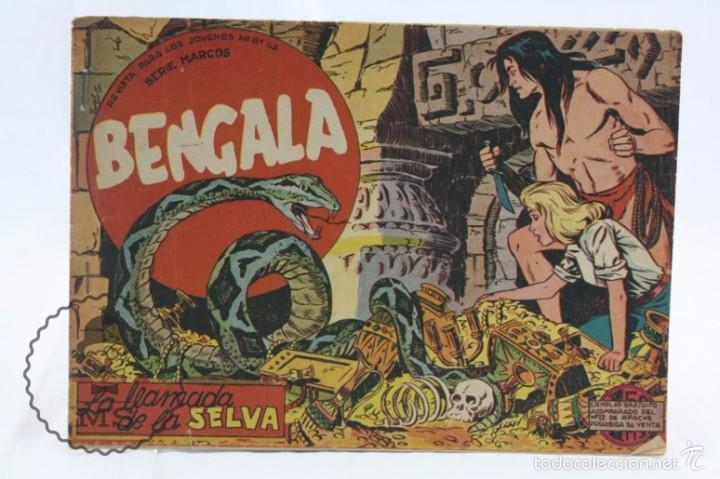 CÓMIC BENGALA - Nº 2. LA LLAMADA DE LA SELVA - ED. MAGA, AÑO 1959 (Tebeos y Comics - Maga - Bengala)