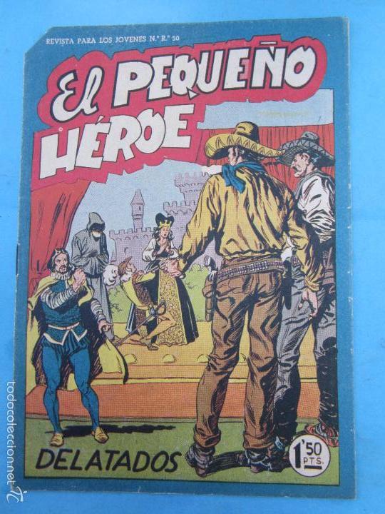 EL PEQUEÑO HEROE , NUMERO 25 , MAGA , ORIGINAL (Tebeos y Comics - Maga - Pequeño Héroe)