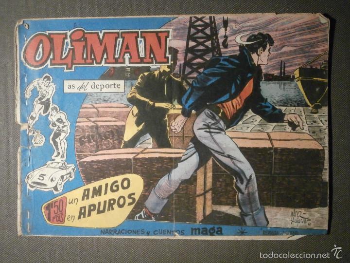 TEBEO - COMIC - OLIMAN - AS DEL DEPORTE - UN AMIGO EN APUROS - Nº 12 - MAGA - ORIGINAL (Tebeos y Comics - Maga - Oliman)