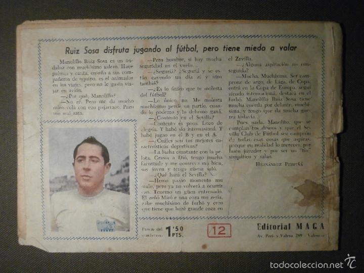 Tebeos: TEBEO - COMIC - OLIMAN - AS DEL DEPORTE - UN AMIGO EN APUROS - Nº 12 - MAGA - ORIGINAL - Foto 2 - 58601417
