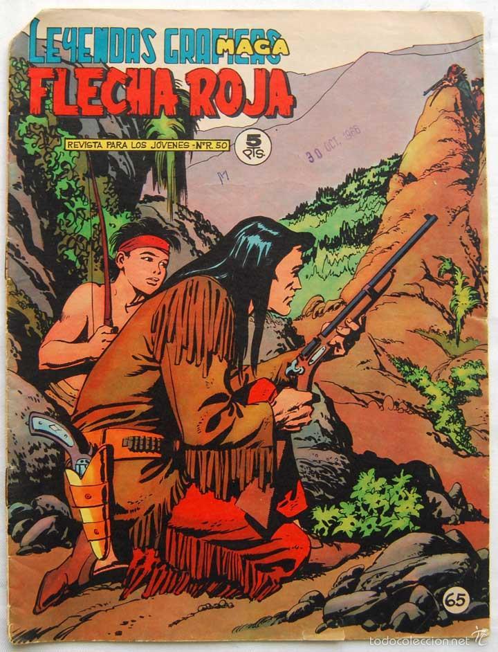 FLECHA ROJA Nº 65. MAGA (Tebeos y Comics - Maga - Flecha Roja)